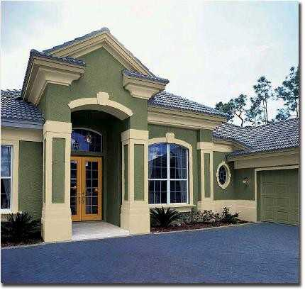 Stucco siding